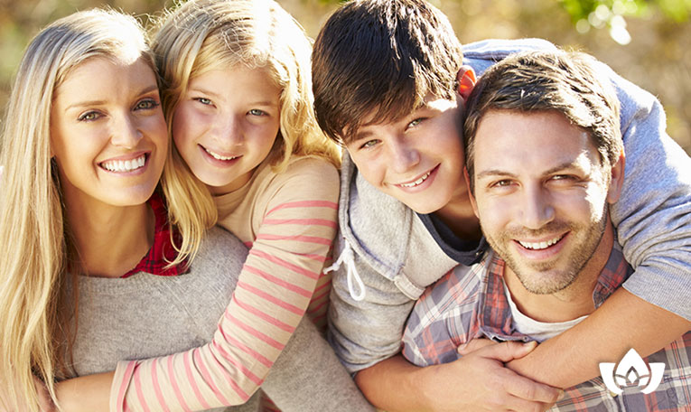happy family living a healthy life | Mindful Healing | Mississauga Naturopathic Doctor